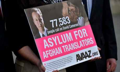 Asylum for Afghan translators
